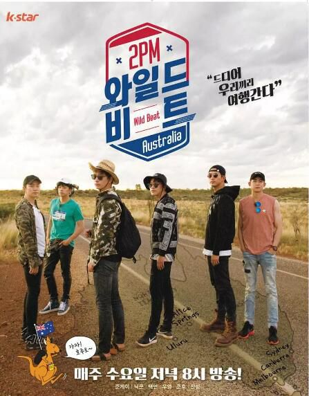 韓國綜藝 2PM Wild Beat 3DVD